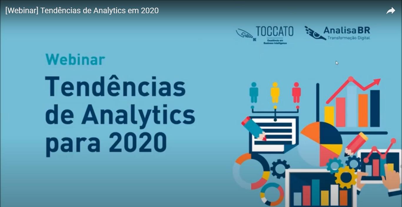Webinar – Tendências de Analytics em 2020